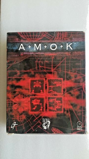 AMOK (PC Windows 1996) Big Box Edition